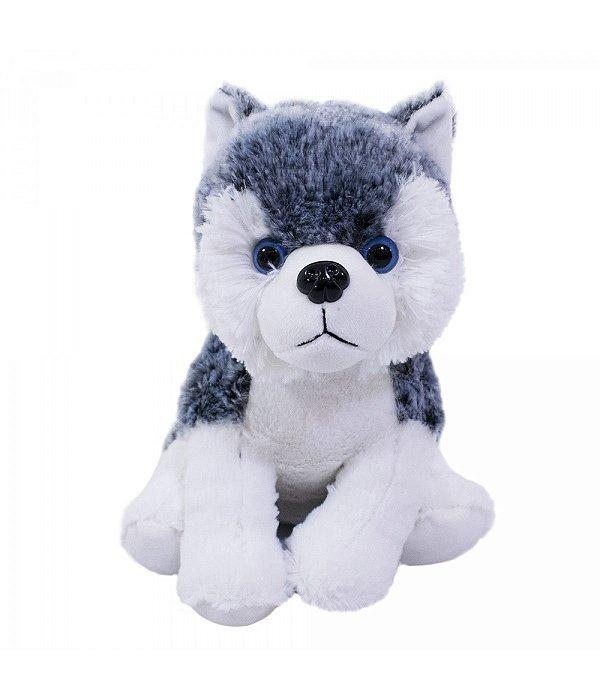 Cachorro Husky 21cm - Pelúcia
