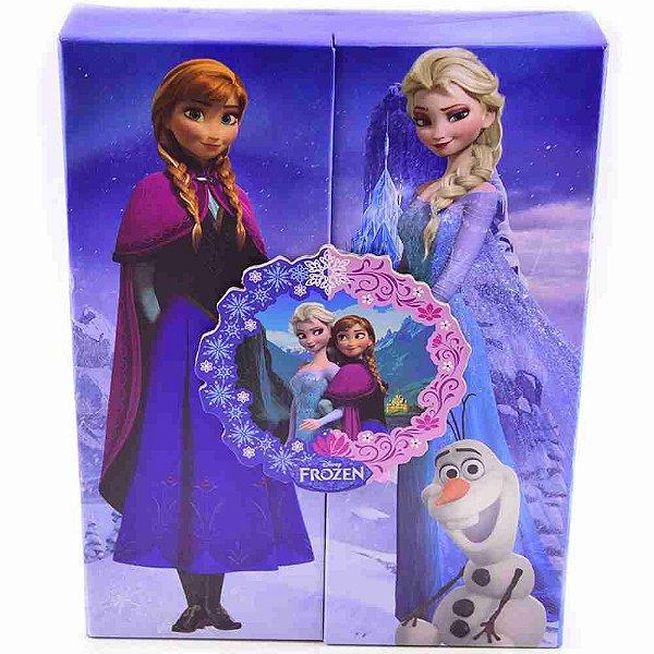 Álbum Azul Para 120 Fotos 10X15cm Anna Elsa - Disney