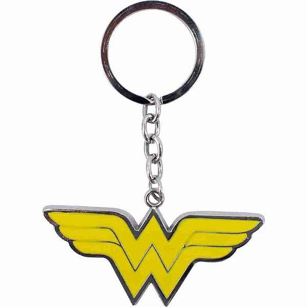 Chaveiro Metal Símbolo Mulher-Maravilha - Liga Da Justiça