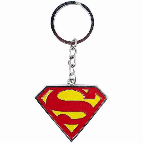 Chaveiro Metal Símbolo Superman - Liga Da Justiça