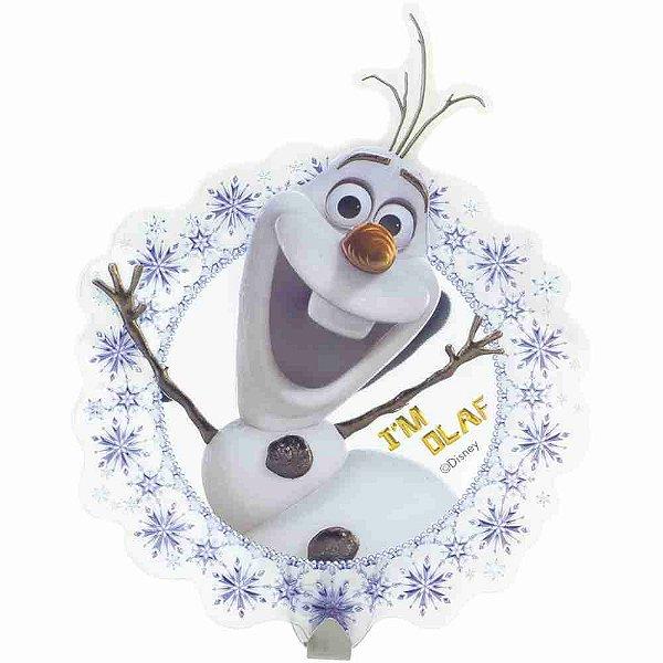 Adesivo Decorativo 3D Com Gancho Olaf Frozen - Disney