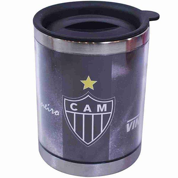 Caneca Térmica Com Tampa 450ml - Atlético Mineiro
