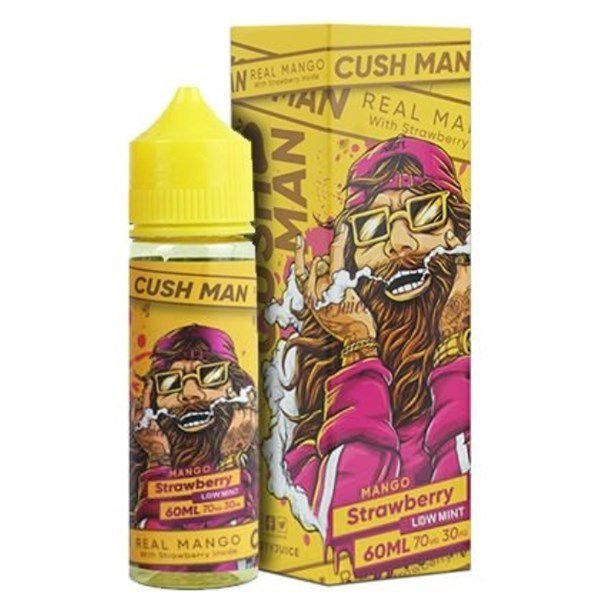 JUICE NASTY CUSH MAN MANGO STRAWBERRY  60 ML