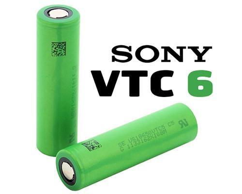 bateria sony 18650  VTC6  30A 3000mAh 2 unid.