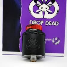 RDA - Hellvape - Drop Dead -MATTE BLACK