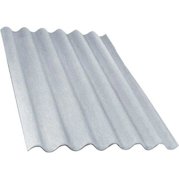 Telha ondulada de fibrocimento 3,05 x 1,10 x 6mm