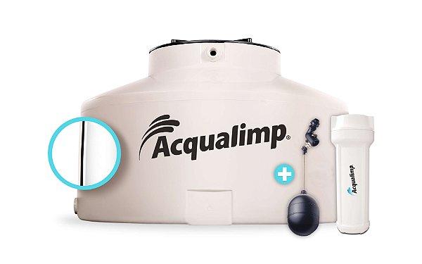 Caixa D' Água 1.500 Litros Acqualimp Água Limpa