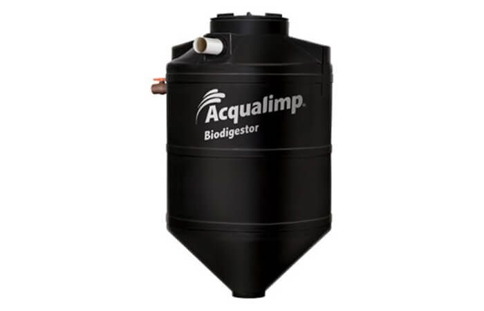 Biodigestor e Limpa Fossa 600L
