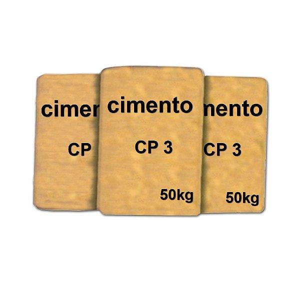 Cimento CP3 50kg
