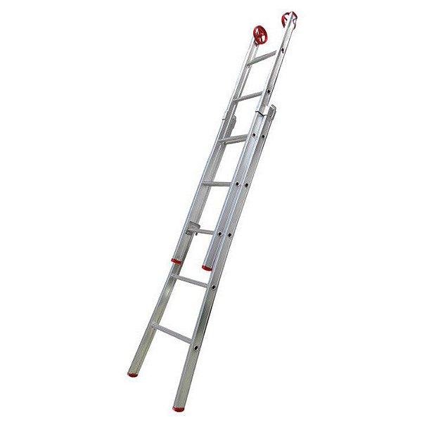 Escada Extensiva De Alumínio