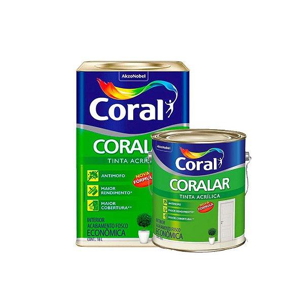 Tinta Acrílica Coral Coralar Econômica