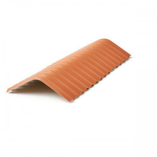 Cumeeira central em PVC cerâmica