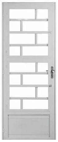 Porta Tijolinho Branca 2,10m x 0,80m