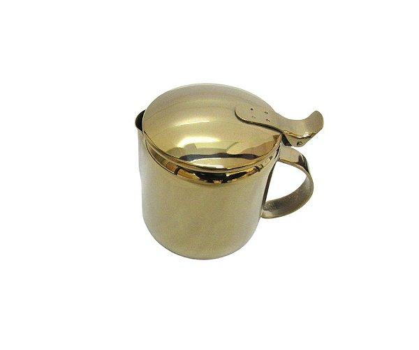 Bule Dourado em Aço Inox 350ML - By Fineza