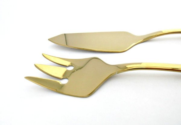 Conjunto Trinchante para Peixe - Dourado Fineza