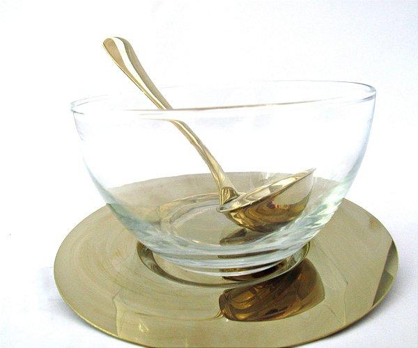 Conjunto para Molho Dourado Fineza