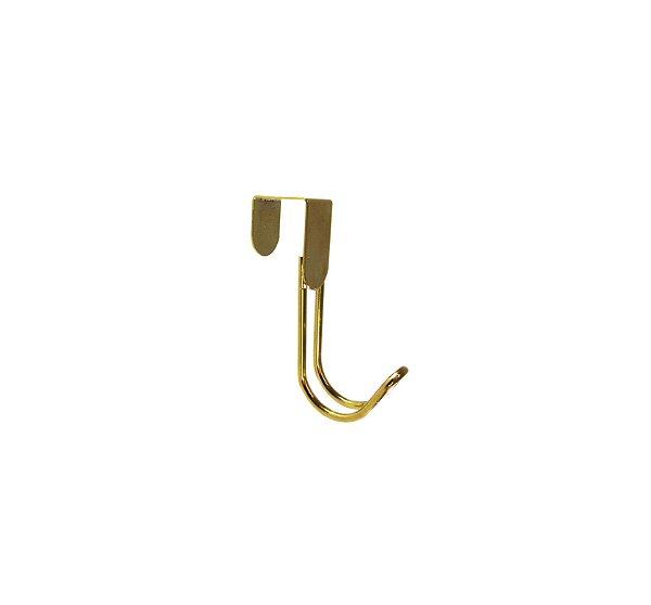 Suporte Dourado para porta 1 gancho – By Fineza