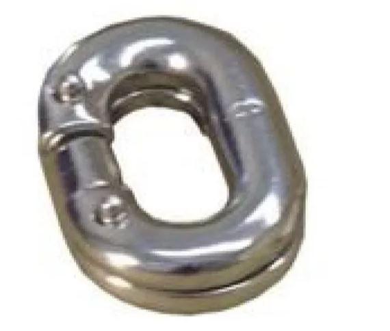 Peças e acessórios Lanchas Focker - Elo Conector de Corrente em INOX - 6 mm
