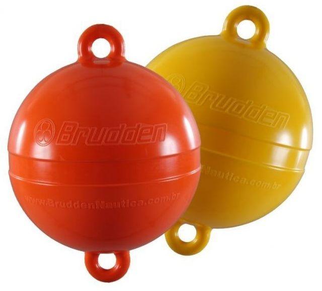 Peças e Acessórios Lancha Focker - Boia de Demarcação / Arinque - Redonda Brudden - Amarela ou Vermelha 40 cm