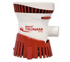 Peças e Acessórios Lancha Focker - Bomba De Porão Tsunami 500 Gph - 1.893 Litros Hora - 12v