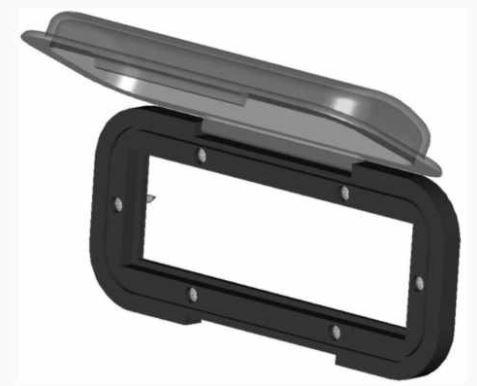 Peças e acessórios Lanchas Focker - Protetor Frontal com base em ABS (Transparente ou Fumê)