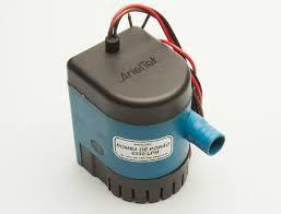 Peças e Acessórios Lancha Focker - Bomba Automática com sensor de Nível de Água para bomba de Porão 2300LPH