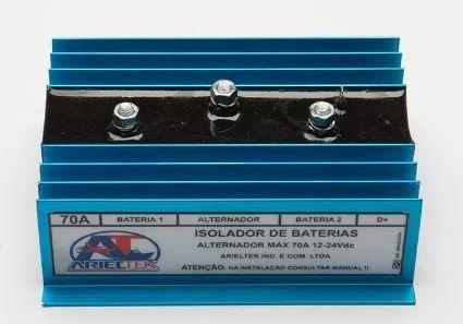Peças e acessórios Lanchas Focker - Isolador de Baterias 70A