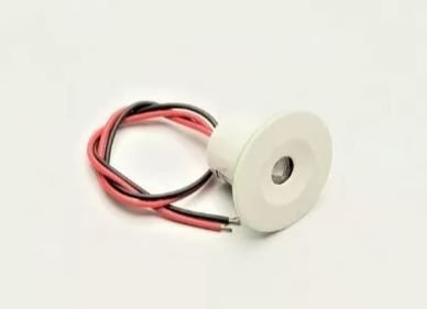 Peças e acessórios Lancha Focker - Luz de cortesia pontual LED Corpo branco, prata ou dourado 12V (Branco, azul, vermelho, amarelo) 1 un.
