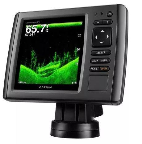 Peças e acessórios Lanchas Focker - GPS e Sonar / ChartPlotter Garmin echoMAP 52dv/cv CHIRP c/ Carta Náutica (c/ Transducer GT20-TM)