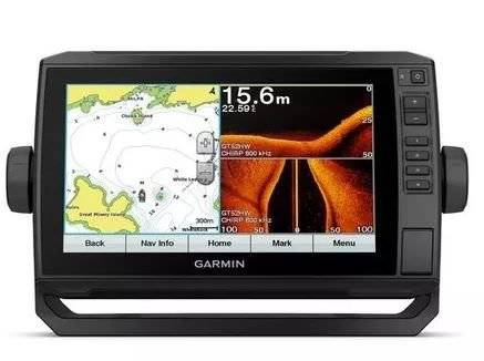 Peças e acessórios Lanchas Focker - GPS e Sonar / ChartPlotter Garmin echoMAP 92sv CHIRP c/ Carta Náutica (c/ Transducer)