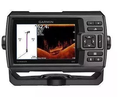 Peças e acessórios Lanchas Focker - GPS e Sonar Fishfinder Garmin STRIKER 5dv CHIRP (c/ Transducer GT20-TM)