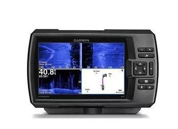 Peças e acessórios Lanchas Focker - GPS e Sonar Fishfinder Garmin STRIKER 7sv CHIRP (c/ Transducer GT52HW-TM)