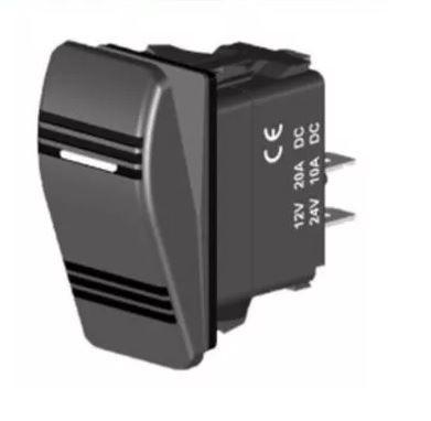 Peças e acessórios Lanchas Focker - Interruptor Momentâneo