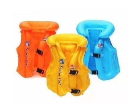 Peças e Acessórios Lancha Focker - Colete Inflável Infantil Salva-Vidas para Crianças