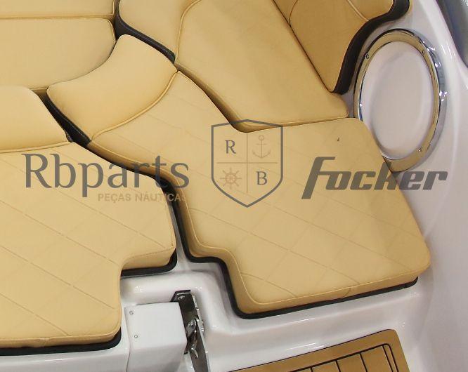Peças e Acessórios Lancha Focker - Assento Sob Escada Peixinho Focker 210