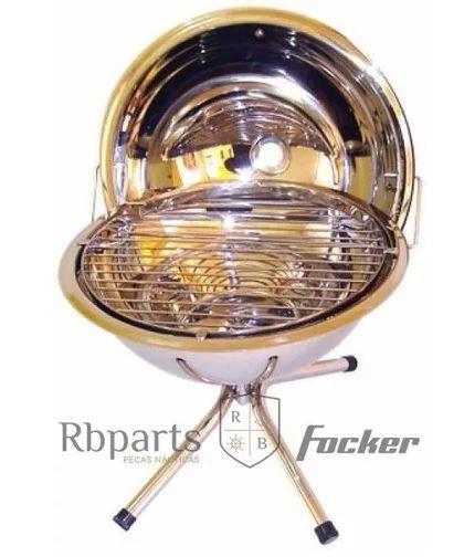 Peças e Acessórios Lancha Focker - Pedestal para Churrasqueira 12 cm