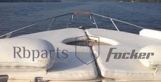 Peças e Acessórios Lancha Focker - Capa da Almofada de Proa Focker 255