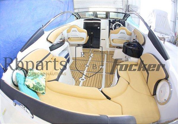 Peças e Acessórios Lancha Focker - Capas dos Bancos Focker 215 (Courvin)
