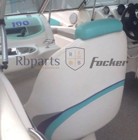 Peças e Acessórios Lancha Focker - Capas dos Bancos Focker 190 (Courvin)
