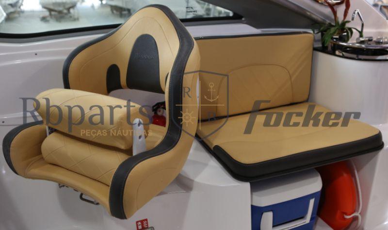 Peças e Acessórios Lancha Focker - Capas dos Bancos Focker 275 (Courvin)