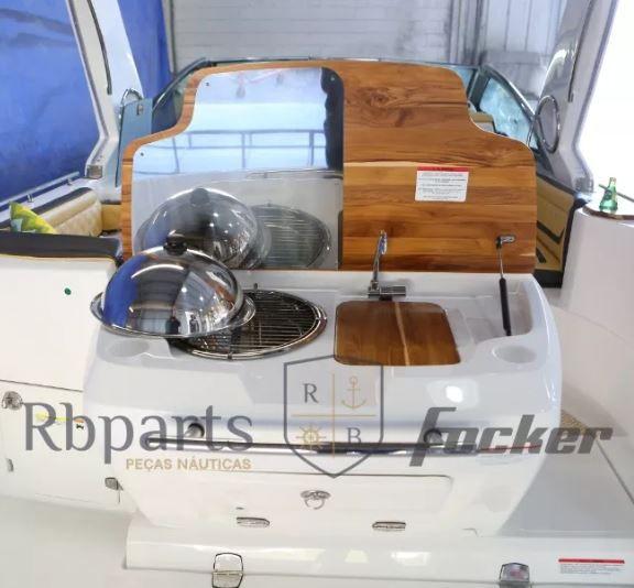 Peças e Acessórios Lancha Focker - Espaço Área Gourmet Focker 310/320/330