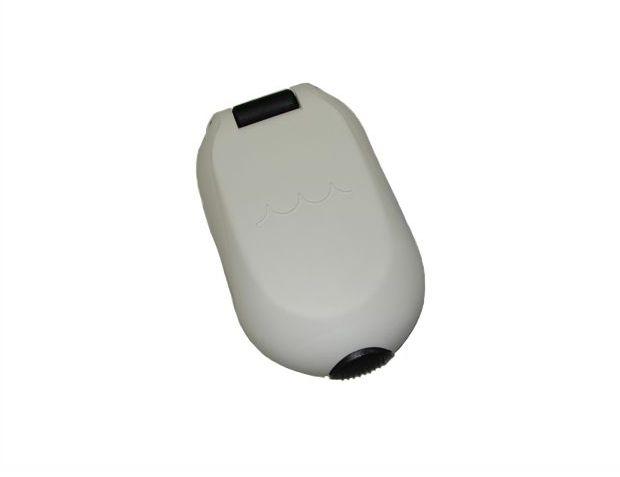 Peças e Acessórios Lancha Focker - Bocal Plástico Oval p/ Deck 1-1/2 pol - Branco - Água