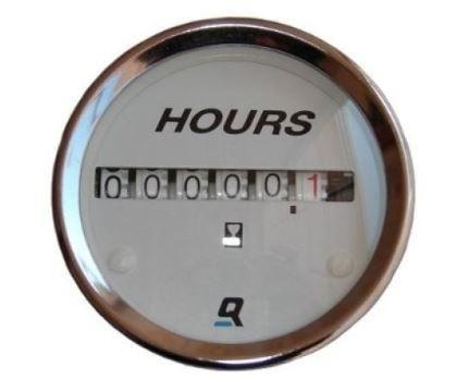 Peças e acessórios Lanchas Focker - Horímetro, Medidor de Horas Para Embarcações QuickSilver