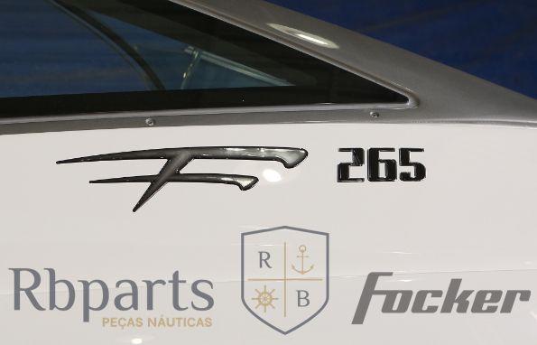 Peças e acessórios Focker - Adesivo Resinado Focker 265