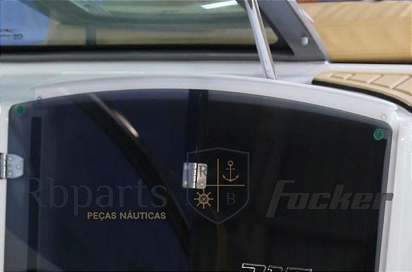 Peças e acessórios Focker - Acrílico Chapéu Porta da Cabine