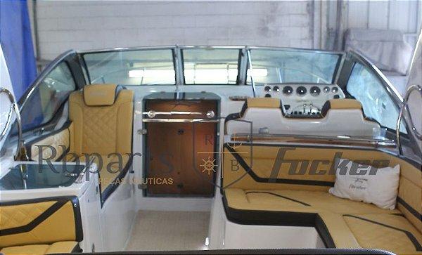 Peças e acessórios Focker - Para-brisa Vidro Frontal Copiloto Focker 310
