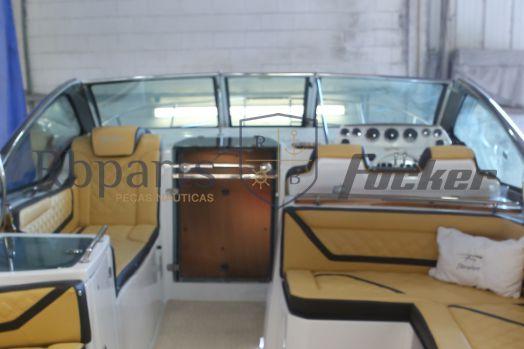 Peças e acessórios Focker - Para-brisa Frontal Alumínio Focker 320