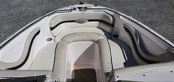 Peças Para Barcos E Lanchas -estofado Focker 205 (courvin) Capa Dos Bancos Completo