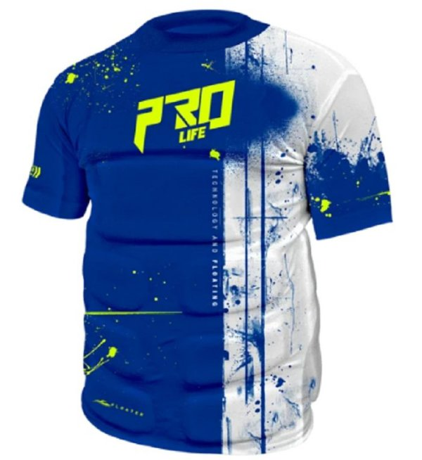 Flutuador Prolife - Camisa Flutuadora Floater Splash - Azul