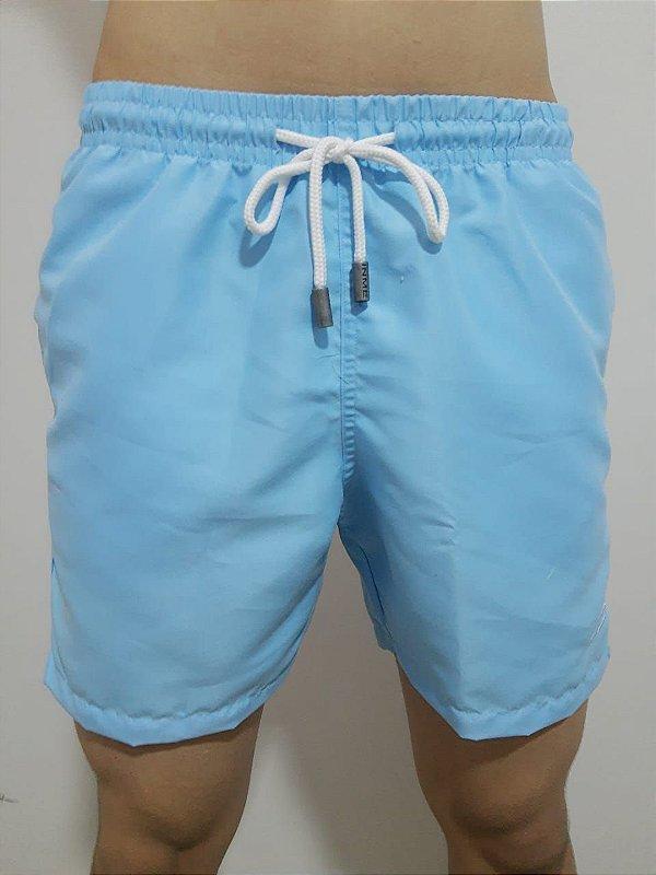 Shorts Focker Azul Neon